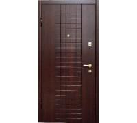 Входная металлическая дверь МДФ модель 12