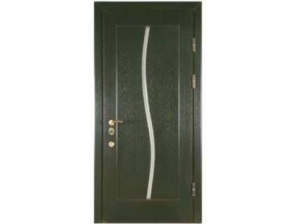 Входная металлическая дверь МДФ модель 13