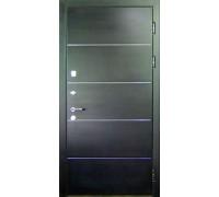 Входная металлическая дверь МДФ модель 21