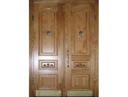 Входная металлическая дверь МДФ модель 38