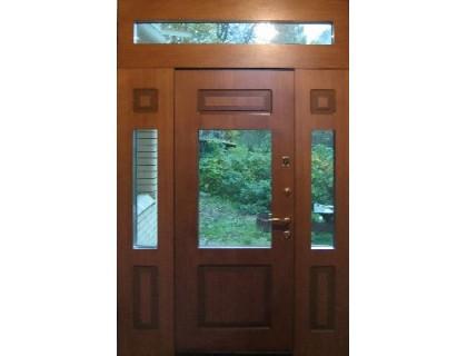 Входная металлическая дверь МДФ модель 39
