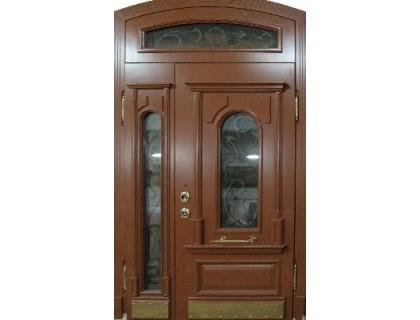 Входная металлическая дверь массив модель 41