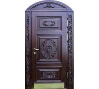 Входная металлическая дверь массив модель 42