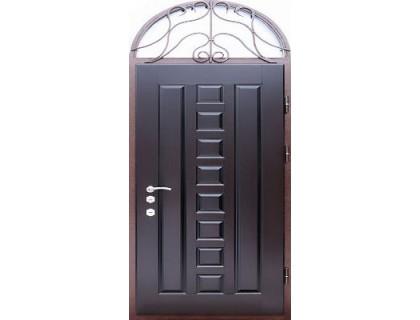 Входная металлическая дверь массив модель 44