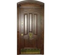 Входная металлическая дверь массив модель 46