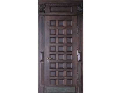 Входная металлическая дверь массив модель 48