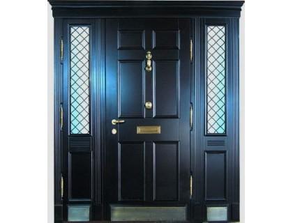 Входная металлическая дверь массив модель 49