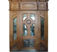 Входная металлическая дверь массив модель 51