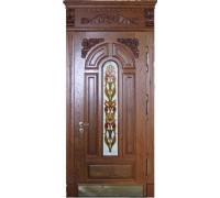 Входная металлическая дверь массив модель 52