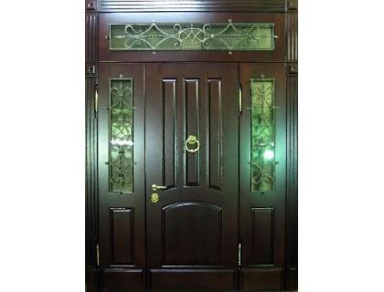 Входная металлическая дверь массив модель 53