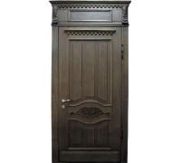 Входная металлическая дверь массив модель 54