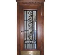 Входная металлическая дверь массив модель 56