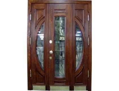 Входная металлическая дверь массив модель 57