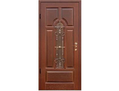 Входная металлическая дверь массив модель 58