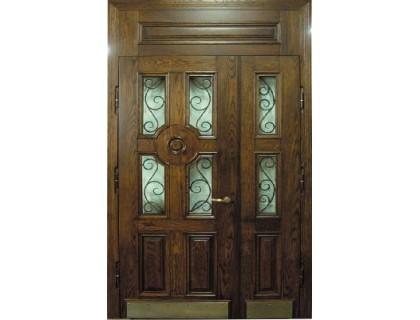 Входная металлическая дверь массив модель 59