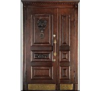 Входная металлическая дверь массив модель 61