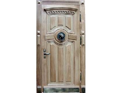 Входная металлическая дверь массив модель 62