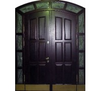 Входная металлическая дверь массив модель 63