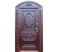 Входная металлическая дверь массив модель 64
