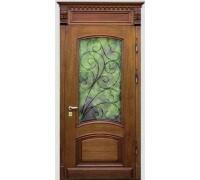Входная металлическая дверь массив модель 66