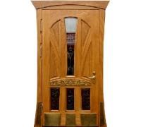 Входная металлическая дверь массив модель 69