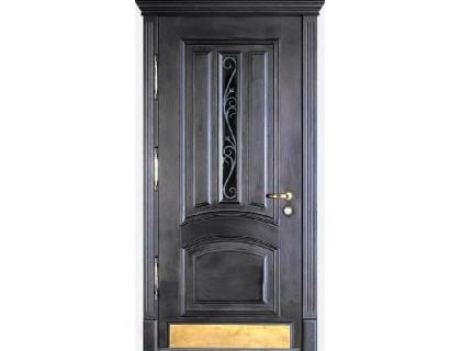 Входная металлическая дверь массив модель 70
