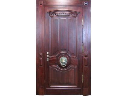 Входная металлическая дверь массив модель 71