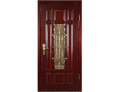 Входная металлическая дверь массив модель 72