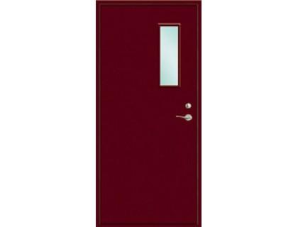 Противопожарная дверь модель 101 со стеклом
