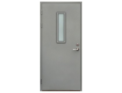 Противопожарная дверь модель 106 со стеклом