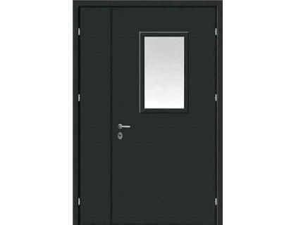 Противопожарная дверь модель 108 со стеклом