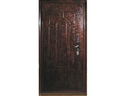 Входная металлическая дверь порошок модель B-05-A