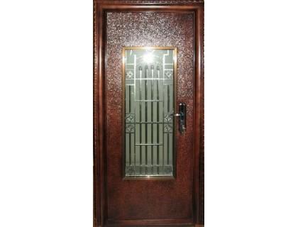 Входная металлическая дверь порошок модель B-08