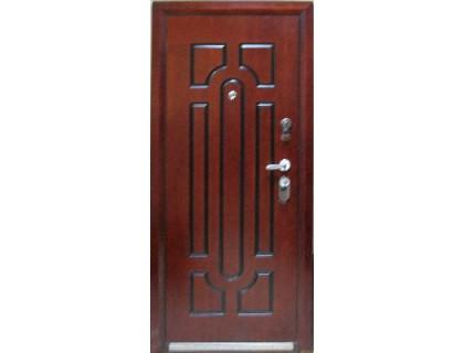 Входная металлическая дверь порошок модель D-03