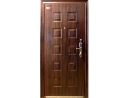 Входная металлическая дверь порошок модель DL-602