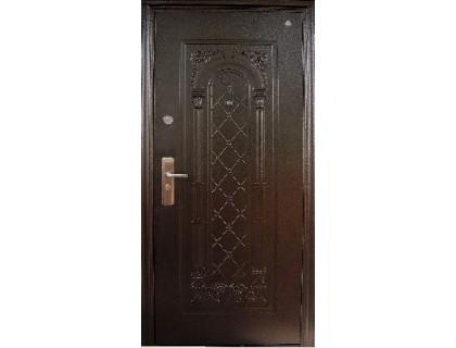 Входная металлическая дверь порошок модель DL-803