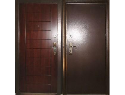 Входная металлическая дверь порошок модель S-88