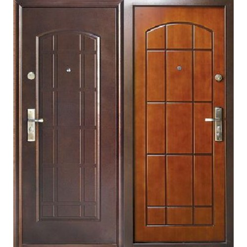 металлические двери мдф в подъезд