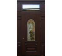 Входная металлическая дверь массив модель 100