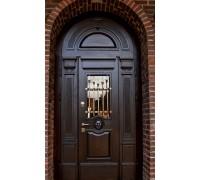 Входная металлическая дверь массив модель 101