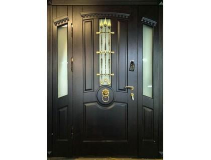 Входная металлическая дверь массив модель 92