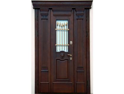Входная металлическая дверь массив модель 93