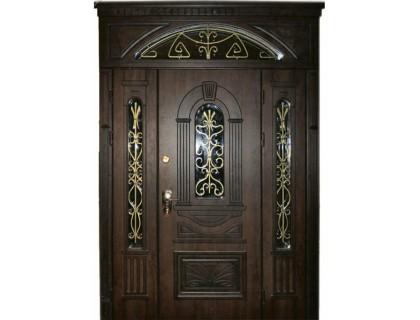 Входная металлическая дверь массив модель 94