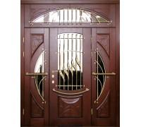Входная металлическая дверь массив модель 95