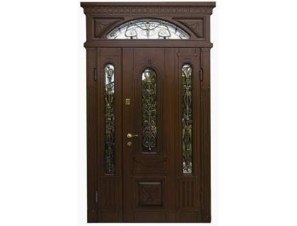 Входная металлическая дверь массив модель 96