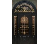 Входная металлическая дверь массив модель 97