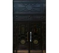 Входная металлическая дверь массив модель 98
