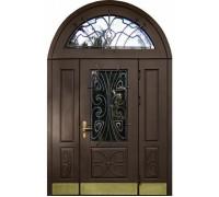 Входная металлическая дверь массив модель 99